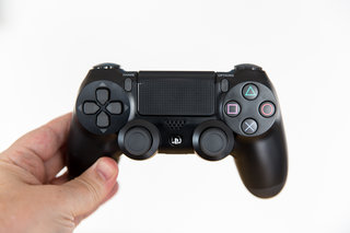 PS5 controller shown in patent, gains two rear buttons but has one major thing missing