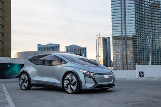 Audi AI:ME concept first ride: Taking us from the road to other worlds