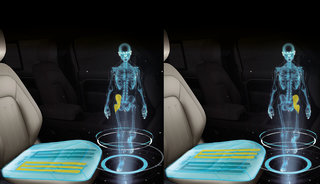 "Jaguar Land Rover woking on ""morphable"" seat for passenger and driver wellbeing"