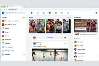 The New Facebook update: How the all-new design looks and works