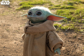 You can now order an incredibly realistic life-size Baby Yoda for 'just' $350