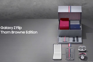 Samsung's Thom Browne Edition of Galaxy Z Flip spotted in leaked video