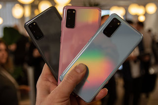Samsung announces Galaxy S20 and S20+, sitting in the shadow of the S20 Ultra