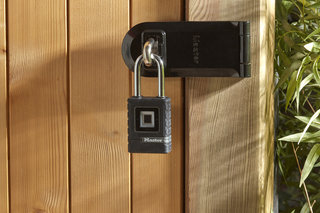 Now you can unlock your shed with a fingerprint using Master Lock's Outdoor Biometric Padlock