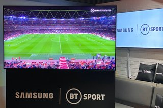 BT Sport and Samsung team up for first 8K live football match