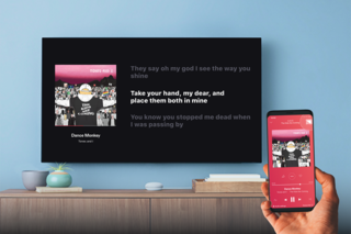 Deezer Lyrics on Chromecast integration turns your lounge into a karaoke room