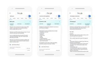 NHS cuts through the coronavirus fake news directly in Google search