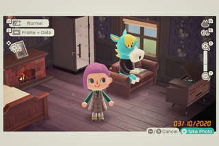 Cómo Animal Crossing: New Horizons Photo Mode te permite tomar capturas de pantalla