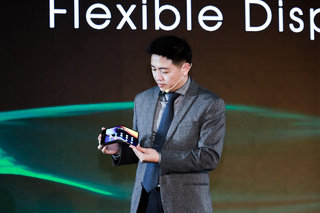 Royole unveils new flexible phone display, partners with ZTE for future devices