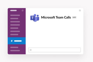 Slack now lets you join Microsoft Teams calls, if that's something you need