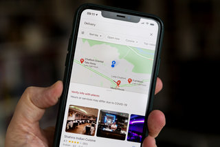Google Maps now highlights restaurants near you that deliver