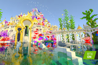 Minecraft with RTX beta now has more worlds to explore, complete with glorious ray-traced visuals
