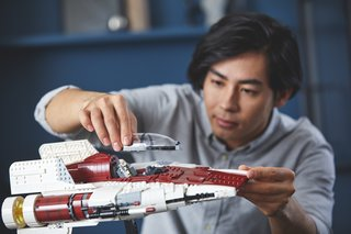 Este Lego Star Wars A-Wing é o mais recente da série Ultimate Collectors