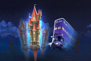 Je kunt nu met de Knight Bus rijden in Harry Potter Wizards Unite