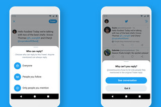 Twitter launches its long-awaited reply options - say goodbye to reply guys