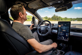 Ford's reveals details of the Mustang Mach-E's hands-free driving system