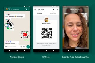WhatsApp introduces animated stickers and QR codes