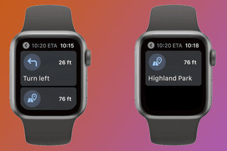 Google Maps returns to the Apple Watch