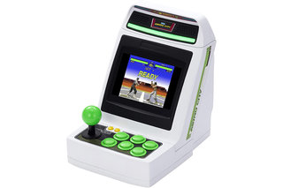 What games will launch on Sega's Astro City Mini arcade machine?