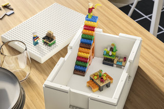 Ikea and Lego team up for storage boxes you can build on