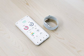 Amazon Halo is a fitness band and app that can analyse your well-being using your voice