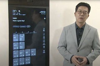 LG ThinQ Home Concierge smart mirror can control connected devices, even your electric car