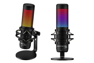 HyperX has upgraded its excellent Quadcast USB microphone with RGB