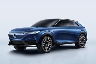 Honda shows off two-door electric SUV concept