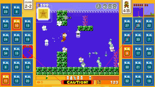 Super Mario Bros 35 available for free on Nintendo Switch - battle royale Mario-style