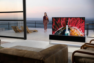 LG's rollable OLED TV finally, er, rolls out