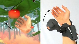 Microsoft is making grabbing things in VR more realistic with haptic controllers