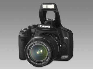 Win a Canon EOS 450D in time for Christmas
