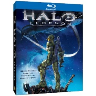 Win one of three copies of Halo Legends on Blu-ray