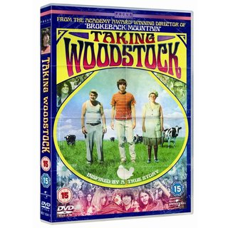 Win one of three copies of Taking Woodstock on DVD