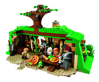 WIN: One of three Lego The Hobbit prizes