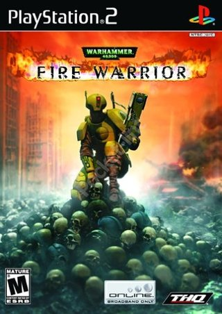 Warhammer 40,000: Fire Warrior - PS2