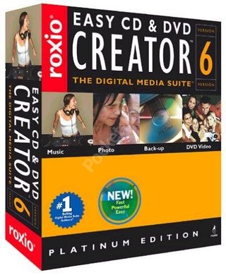 Roxio Easy CD and DVD creator 6