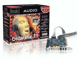 Hercules Digifire 7.1 Audio Sound Card