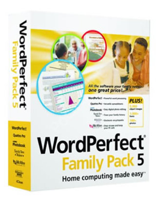 Corel WordPerfect Family Pack 5