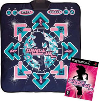 Dance:UK and 8-way dance mat - PS2