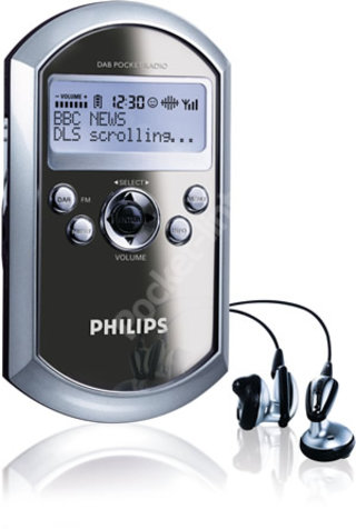 Philips DA1000 pocket digital radio