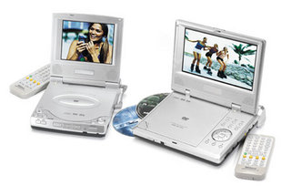 Shinco 7in portable DVD player