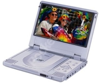 Mustek PL408 portable DVD player