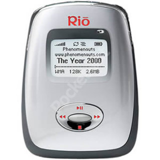Rio Carbon mp3 player - First Look