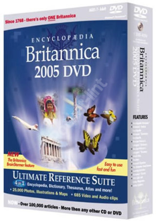 Encyclopaedia Britannica 2005 Ultimate Reference Suite DVD