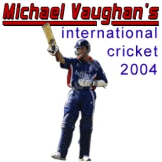 Michael Vaughan's International Cricket 2004 - Mobile game