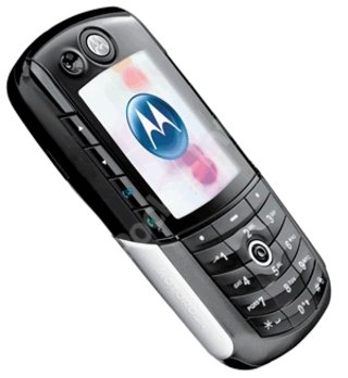 Motorola e1000 mobile phone - EXCLUSIVE