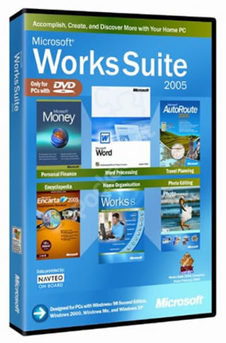 Microsoft Works Suite 2005
