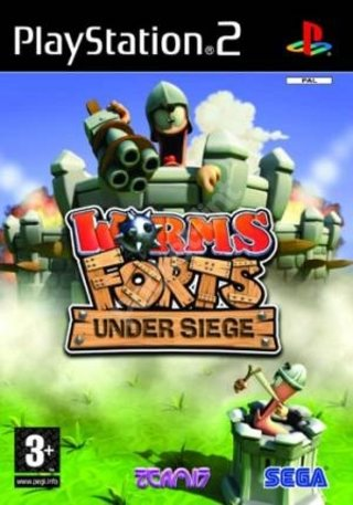 Worms Forts: Under siege - PS2
