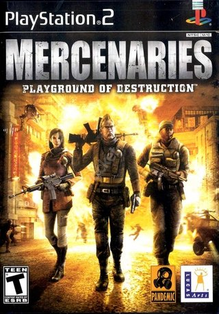 Mercenaries - PS2